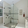 Verona Showers marble walls and custom-made MarbaFloor
