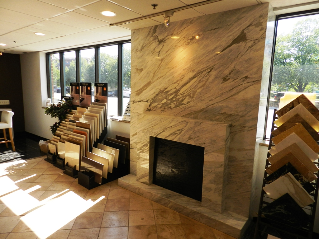 Stone fireplace surrounds marble tiles northern va for Stonecraft fireplaces