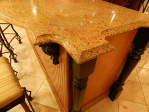Granite Countertop Edges in Ogee Bullnose