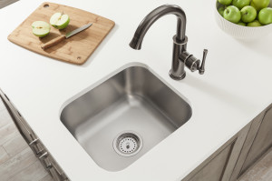Undermount stainless steel Sinks with Overhang