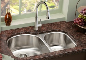 Undermount Stainless Steel Sink with Reveal Installation