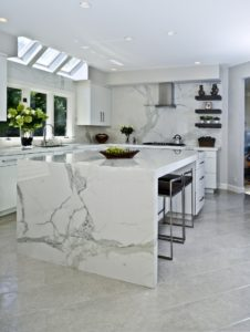 White Marble Look quartz
