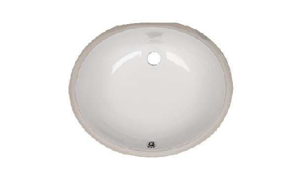 Bathroom Vanity Oval Porcelain Sink ESC-1310