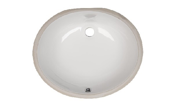 Bathroom Vanity Oval Porcelain Sink ESC-1512