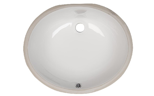 Bathroom Vanity Oval Porcelain Sink (VCS-1417)