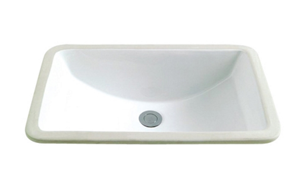 Bathroom Vanity Rectangular Porcelain Sink ESC-1812