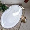Verona Showers Tub Deck in Napoleon Brown