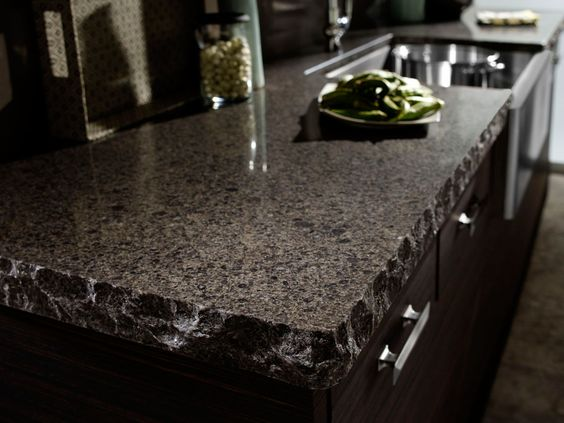 Cambria Flint Black Quartz Countertops