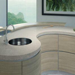Caesarstone Bianco Drift Quartz Countertops