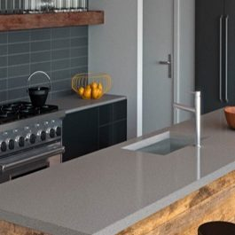 Caesarstone Cement Quartz Countertops