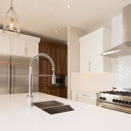 Caesarstone Ice Snow Quartz Countertops