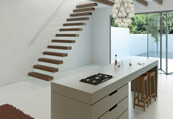 Caesarstone Sleek Concrete Quartz Countertops