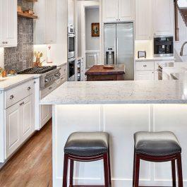 Caesarstone White Attica Quartz Countertops