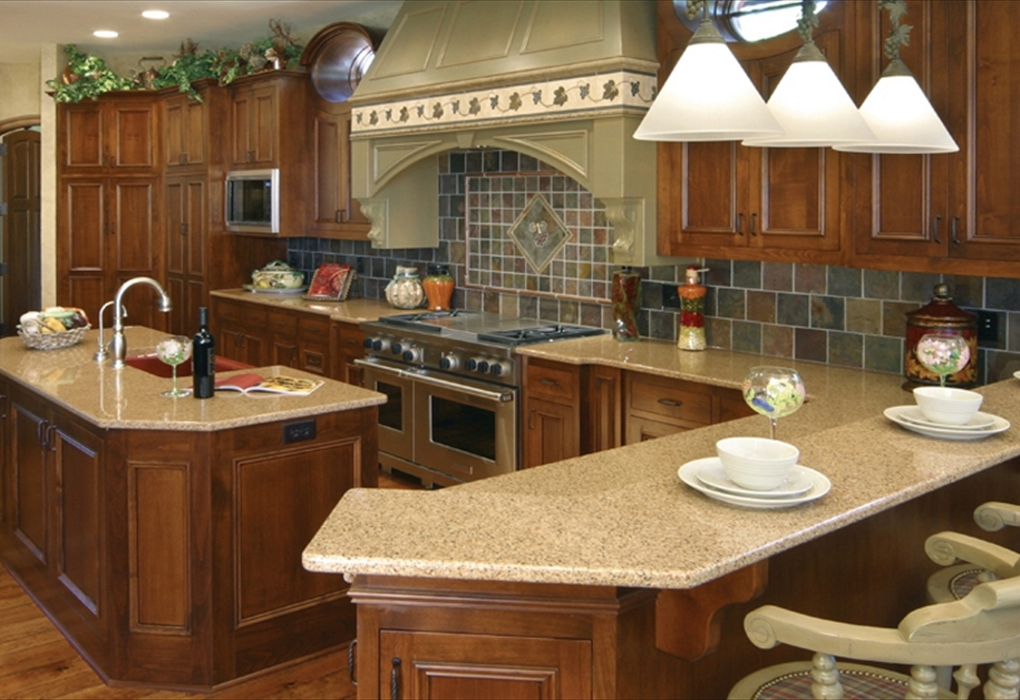 Cambria Burton Brown Quartz Countertops