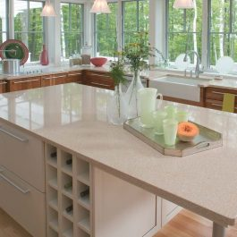 Cambria Cardiff Cream Quartz Countetops