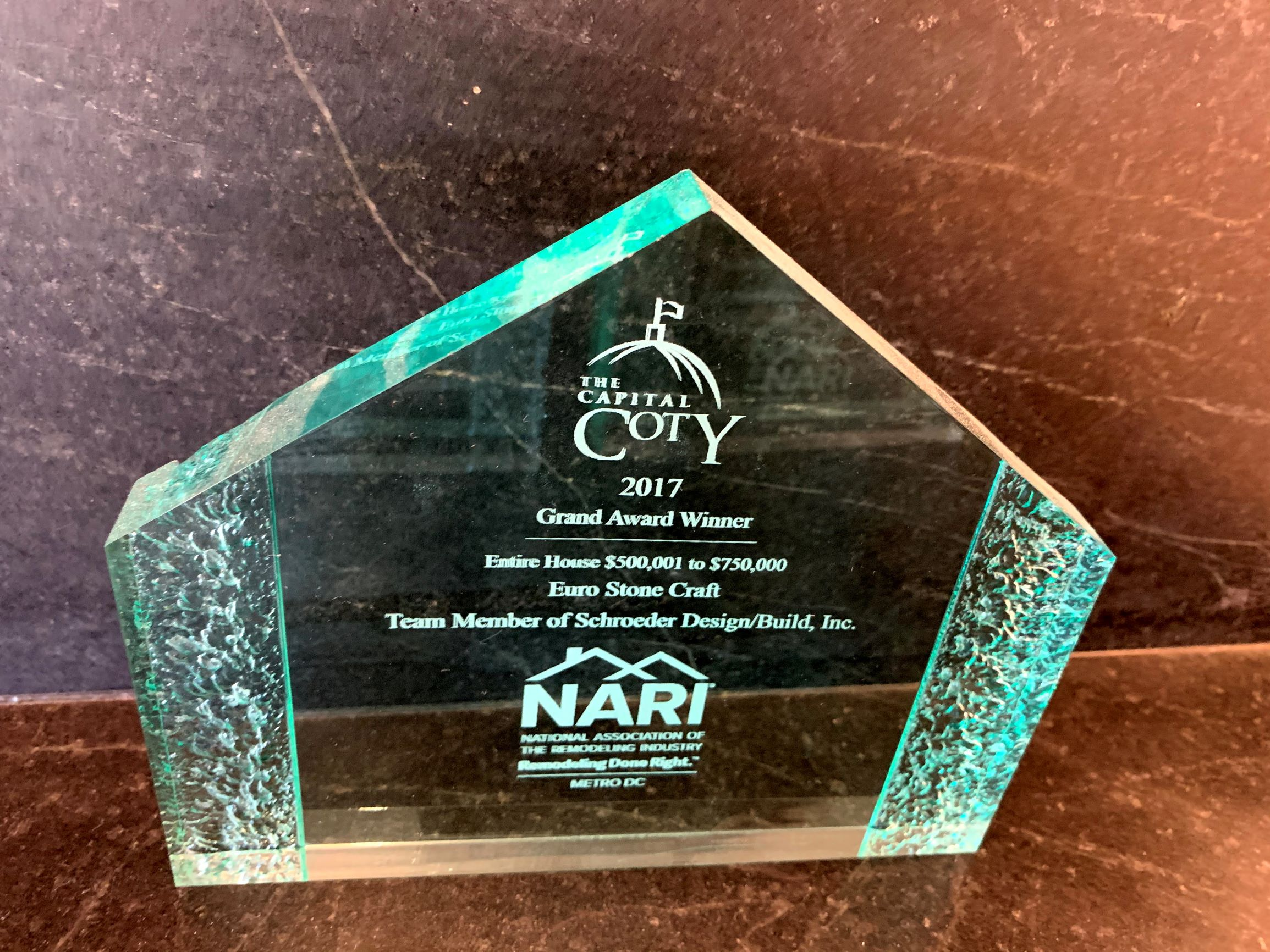 ESC Coty Award 2017 Entire House