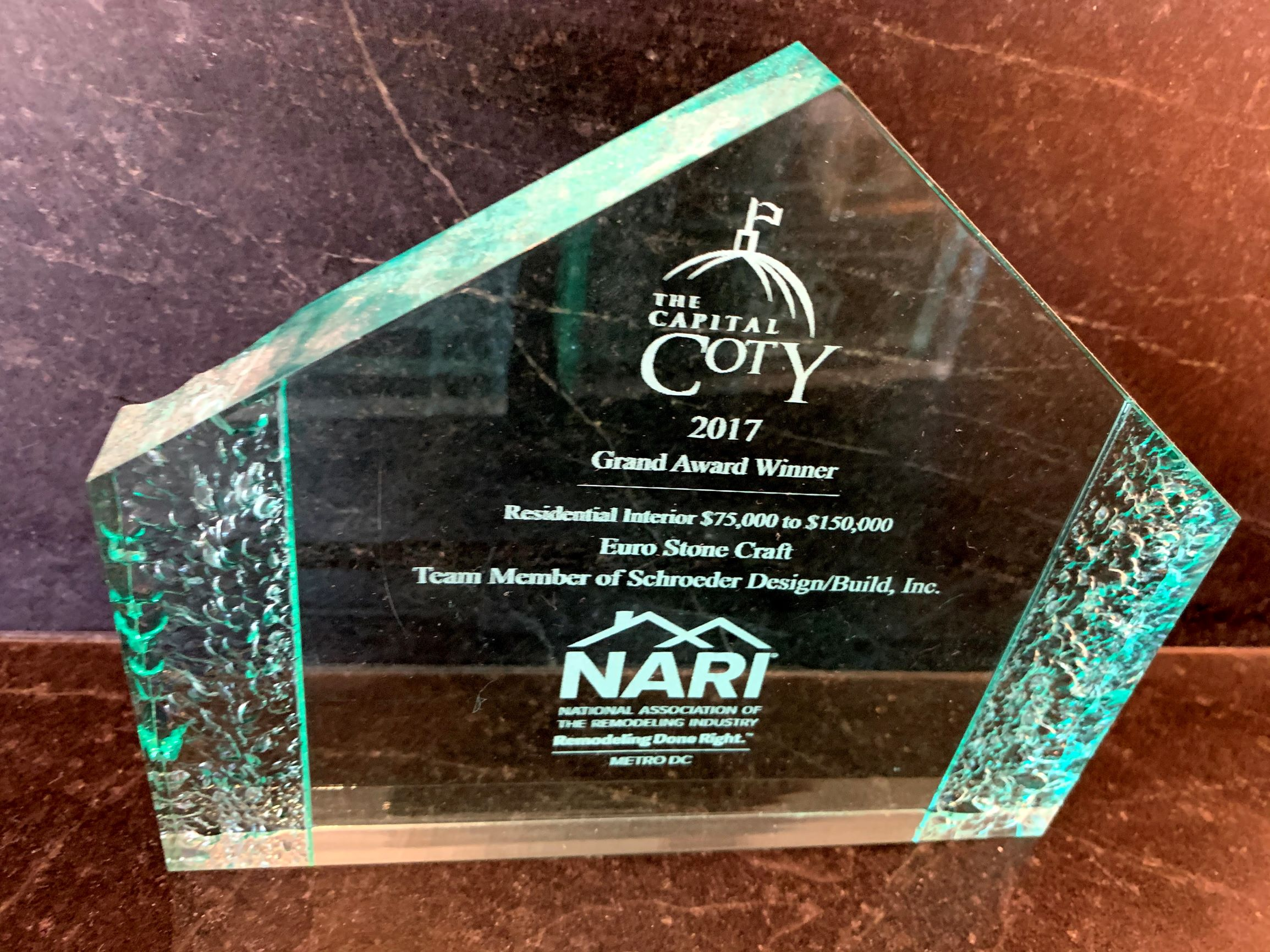 ESC Coty Award 2017 Residential Interrior