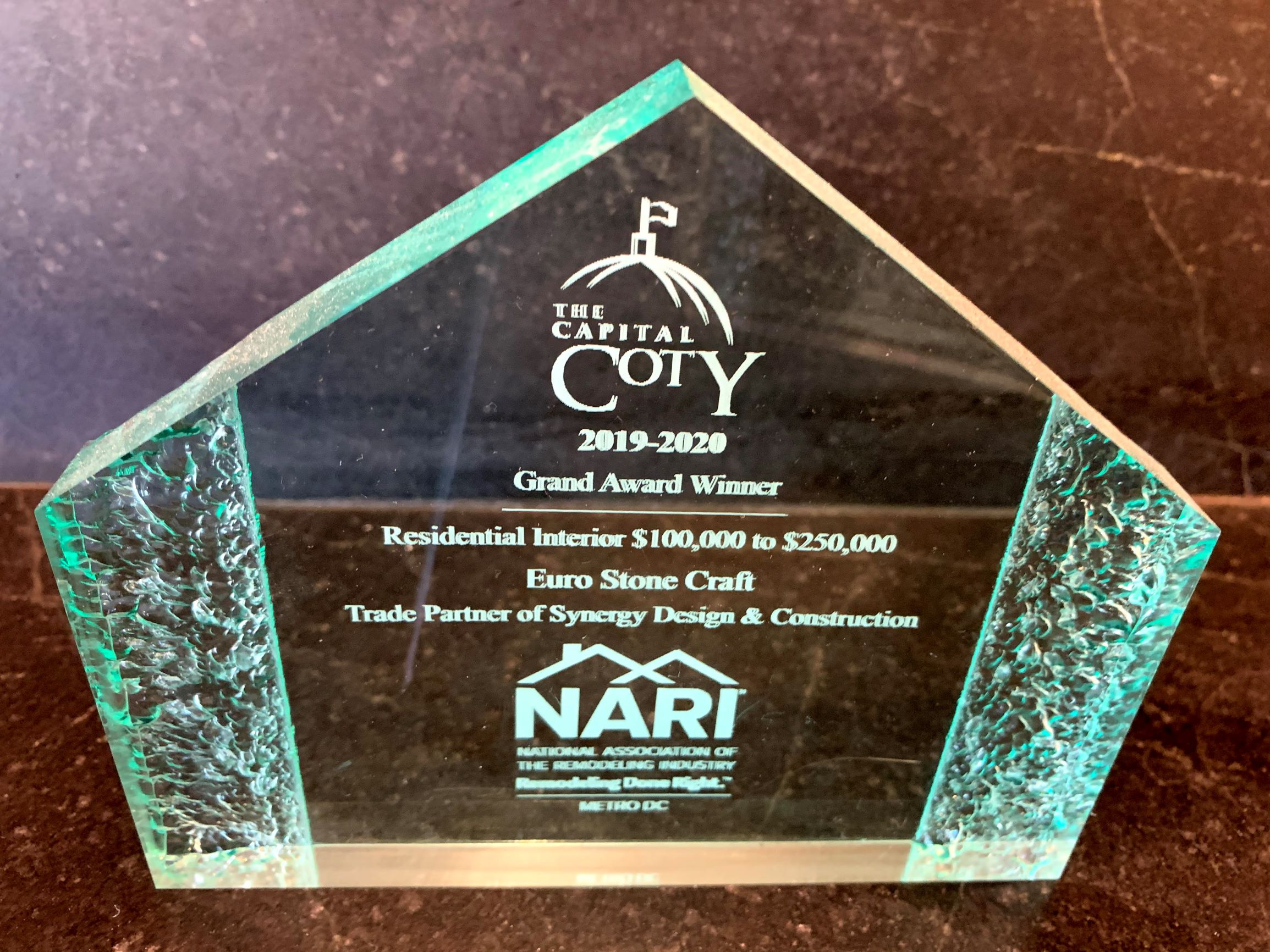 ESC Coty Award 2019-2020 Residential Interior Syngergy