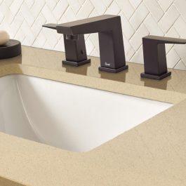 Q Premium Almond Roca Quartz Countertops