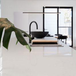 Q Premium Calacatta Botanica Quartz Countertops
