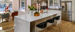 Q Premium Calacatta Ida Quartz Countertops