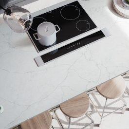 Q Premium Calacatta Monaco Quartz Countertops