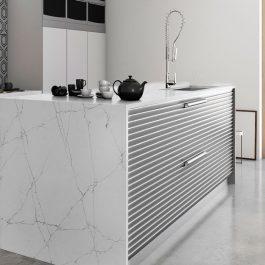 Q Premium Calacatta Montage Quartz Countertops