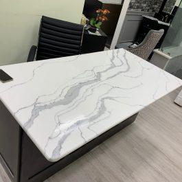 Q Premium Calacatta Murano Quartz Countertops