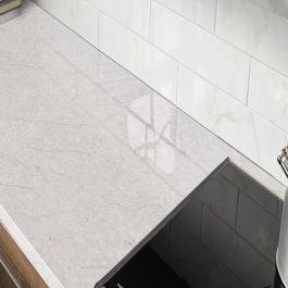 Q Premium Carrara Caldia Quartz Countertops