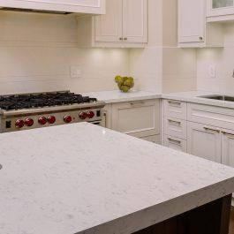 Q Premium Carrara Lumos Quartz Countertops