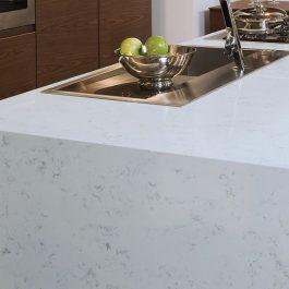 Q Premium Fairy White Quartz Countertops