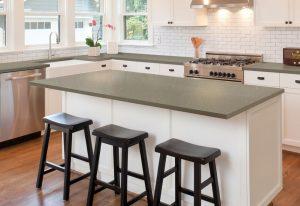 Q Premium Fossil Brown Quartz Countertops