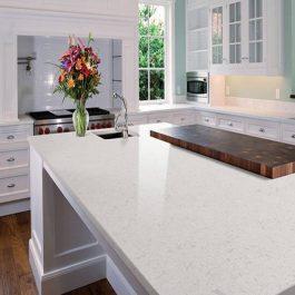 Q Premium Glacier White Quartz Countertops