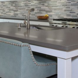 Q Premium Iced Gray Quartz Countertops