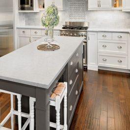 Q Premium Mara Blanca Quartz Countertops