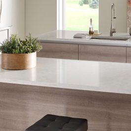 Q Premium Marbella White Quartz Countertops