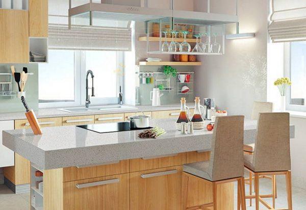 Q Premium Meridian Gray Quartz Countertops