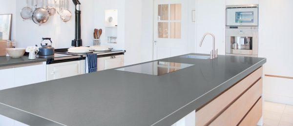 Q Premium Mirano Gray Quartz Countertops