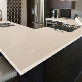 Q Premium Pebble Rock Quartz Countertops
