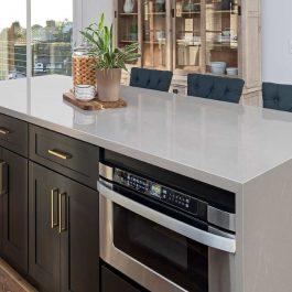 Q Premium Soapstone Mist Quartz Countertops