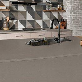 Q Premium Stellar Gray Quartz Countertops