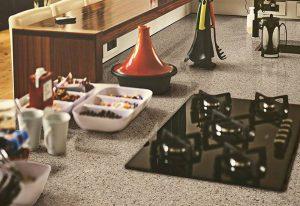 Q Premium Toasted Almond Quartz Countertops