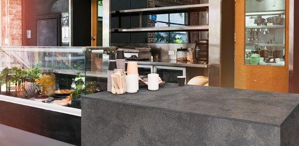 Q Premium Urban Lava Quartz Countertops
