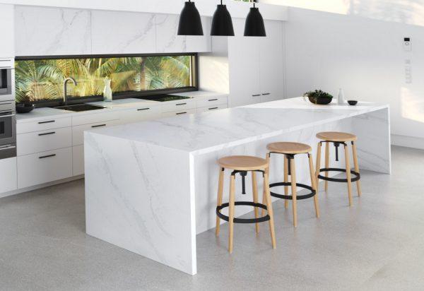 Silestone Calacatta Gold Quartz Countertops