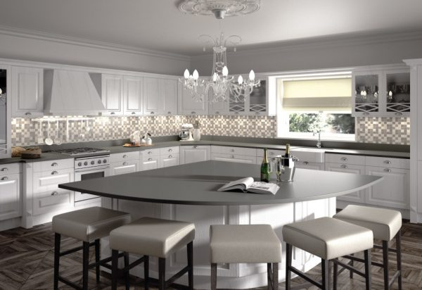 Silestone Cemento Quartz Countertops
