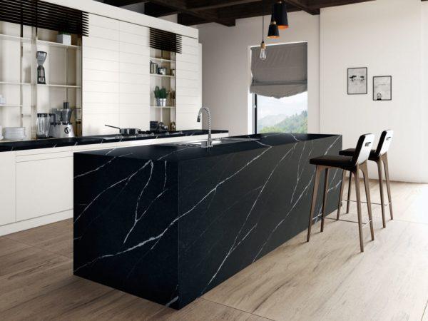 Silestone Eternal Noir Quartz Countertops