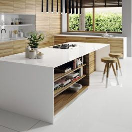 Silestone Iconic White Quartz Countertops