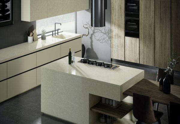 Silestone Silken Pearl Quartz Countertops