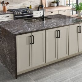 Viatera Basso Brushed Quartz Countertops