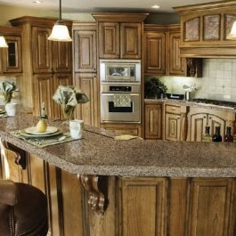 Viatera Carbo Brushed Quartz Countertops